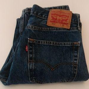 Levi's 505 jeans (J-1)